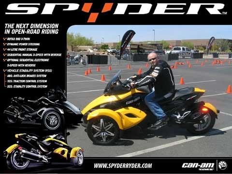 Me on a Spyder