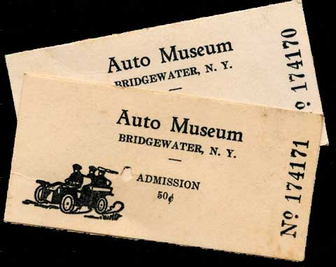 Museum Tickets