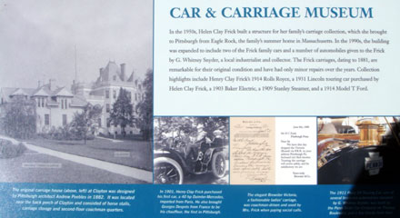 Frick Car and Carriage Museum