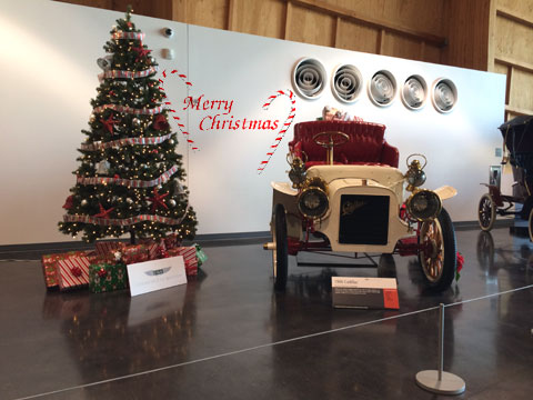 Christmas Tree at the LeMay ACM