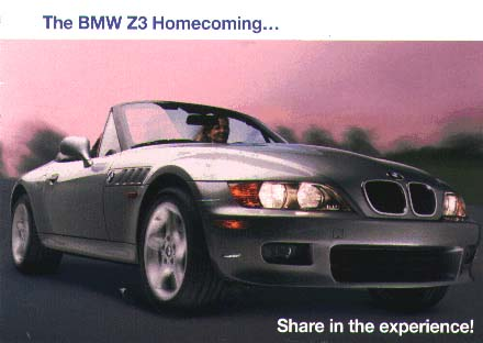 Z3 HomeComing Postcard